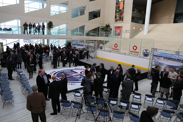 Downtown Arena Press Conference