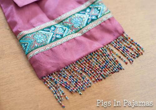 Little pink purse detail