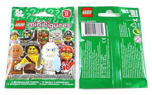 71002 LEGO Minifigures Series 11 pack