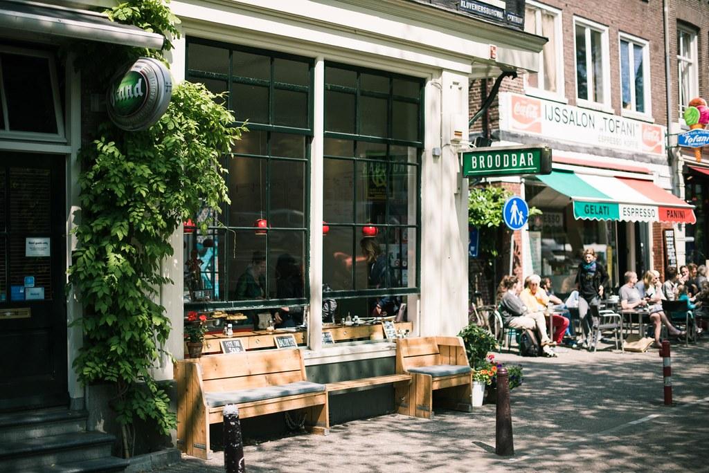 a daytrip to Amsterdam.