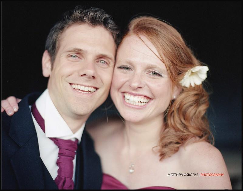 Contax 645 Wedding Portrait