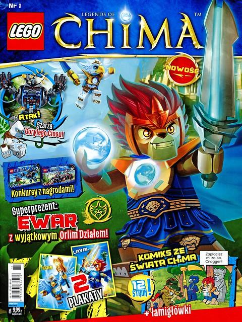 LEGO Legends of Chima Oficjalny Magazyn 2013-01 01