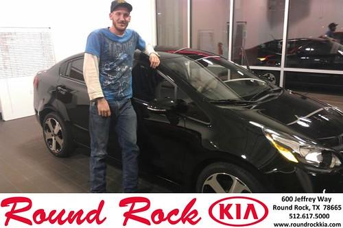 Thank you to Corey  Whitaker on your new 2014 #Kia #Rio from Fernando Fernandez and everyone at Round Rock Kia! #NewCar by RoundRockKia