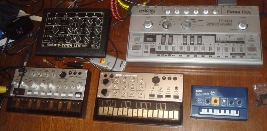 Some of my synths