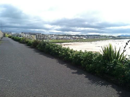 Enniscrone, Ireland beach
