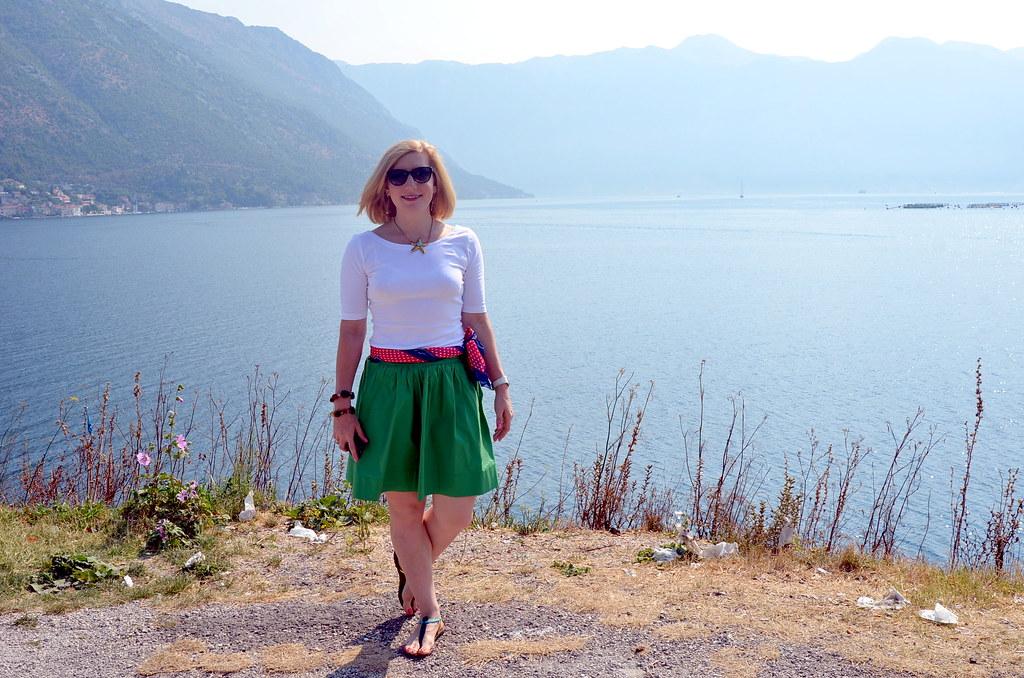 br green skirt