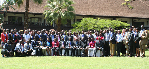 Participants of ReSAKSS-ECA stakeholder workshop during which the AgInvest Africa web portal was launched