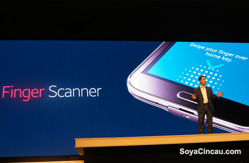 Samsung Galaxy S5 Fingerprint Scanner