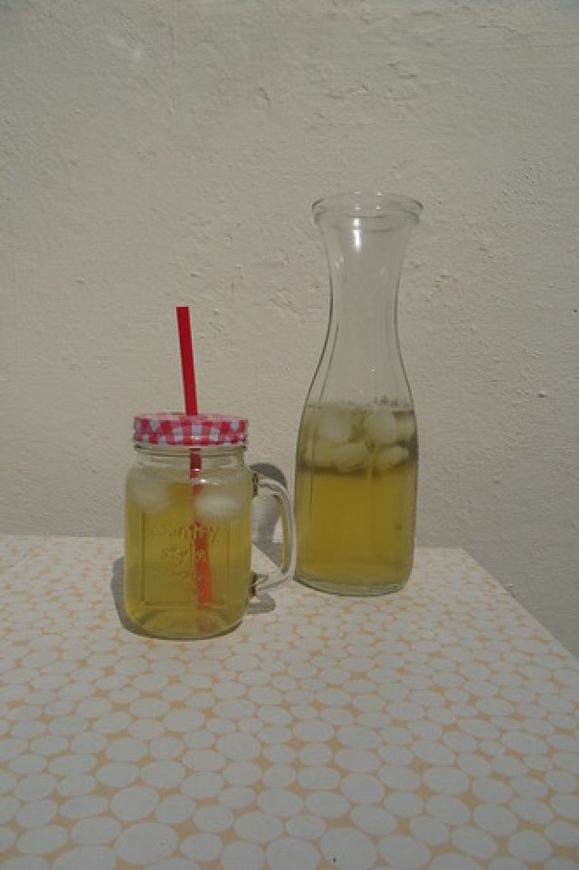 Homemade icetea