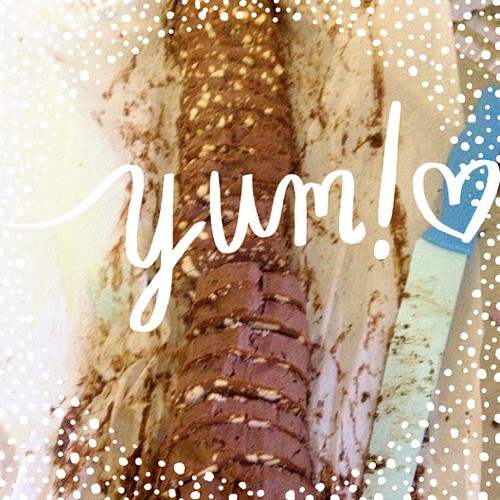 Salame di cioccolato #freeglutin #dolci #agesci #scout #lupetti #vdb #ABeautifulMess