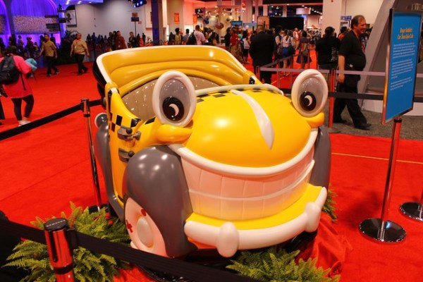 2013 D23 Expo convention show floor