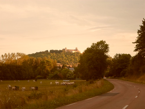 Vezelay from afar