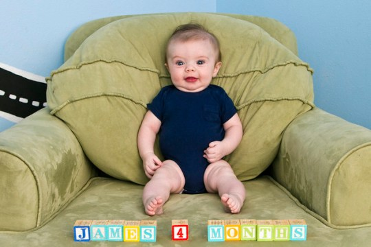 James, month four