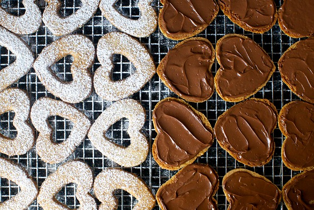 powdered + nutella-ed assembly line