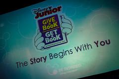 Disney Social Media Moms Conference - Disney Junior Give a Book, Get a Book Breakfast