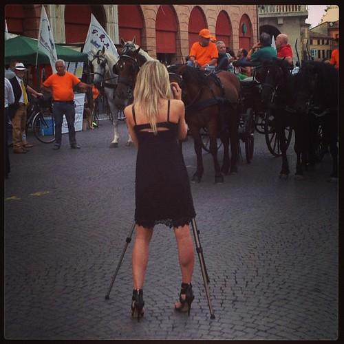 Fotografando fotografi #piazzasaffi #forli #romagna #800inpiazza #igersemiliaromagna #