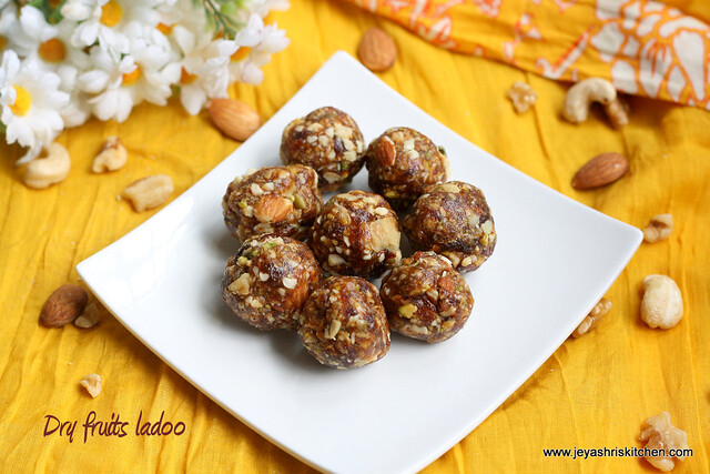 mixed nuts ladoo