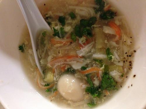 Sup Mang Cua Crab Asparagus Soup