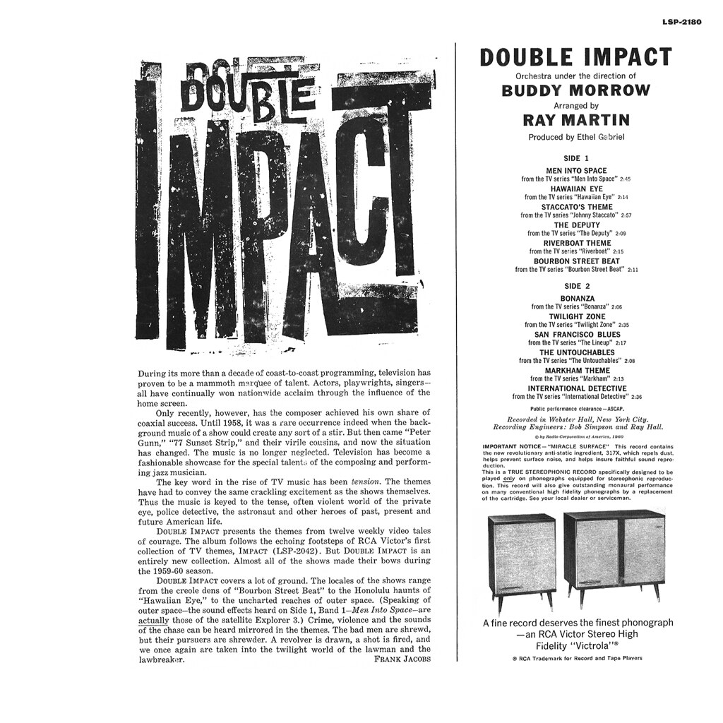 Buddy Morrow - Double Impact