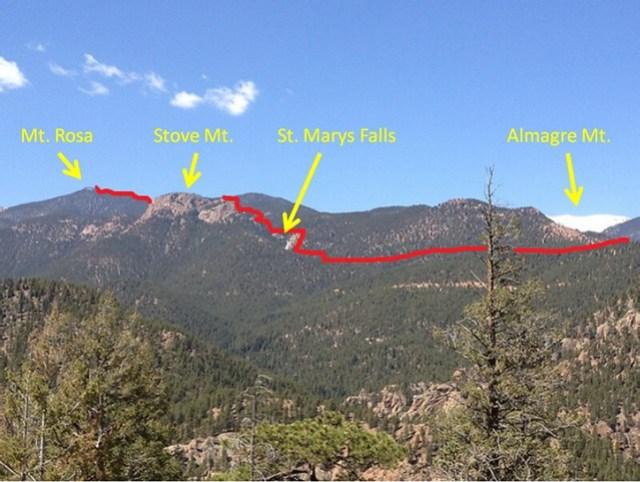 Mt. Rosa Trail