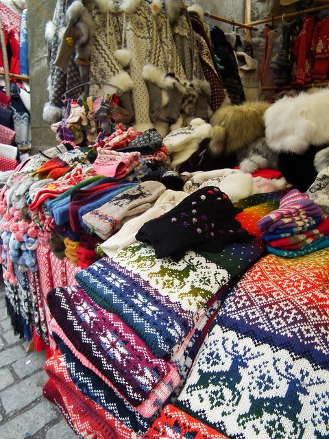 Knit market - Tallinn, Estonia