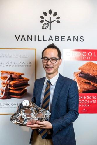 圖說三、日本超級店家vanilla beans總經理八木克尚先生來台與店家分享在樂天一日賣出近8萬顆巧克力的成功秘訣