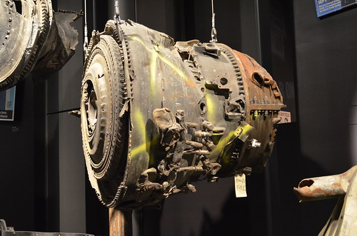 Flight 105 engine