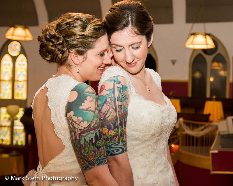 Boston tattoo wedding as seen on @offbeatbride