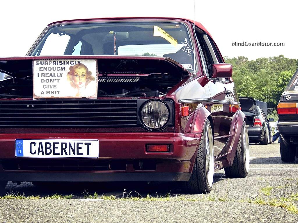 Mk1 VW Golf Cabriolet