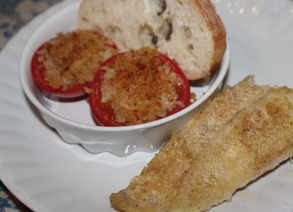 Fischfilets im Parmesanmantel nach Jamie Oliver