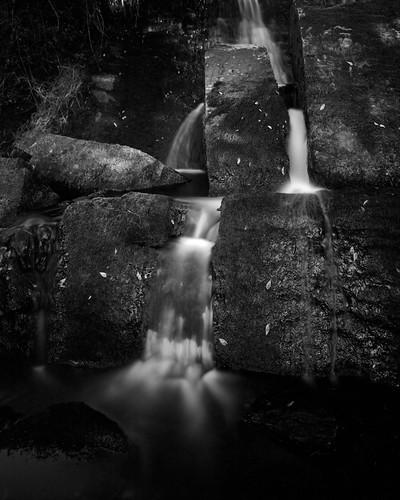 Falls at Brahalish Ring Fort by tubb