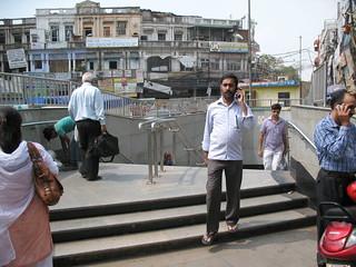 Gate Number 3 Delhi Metro