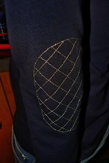 Gold threaded plantain shirt