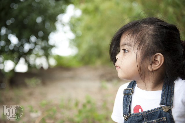 Kirsten Jae looking at the River