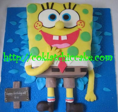 kue ulang tahun spongebob