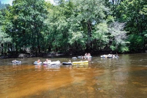 Edisto River Beer Commercial and Rope Swing Float-62