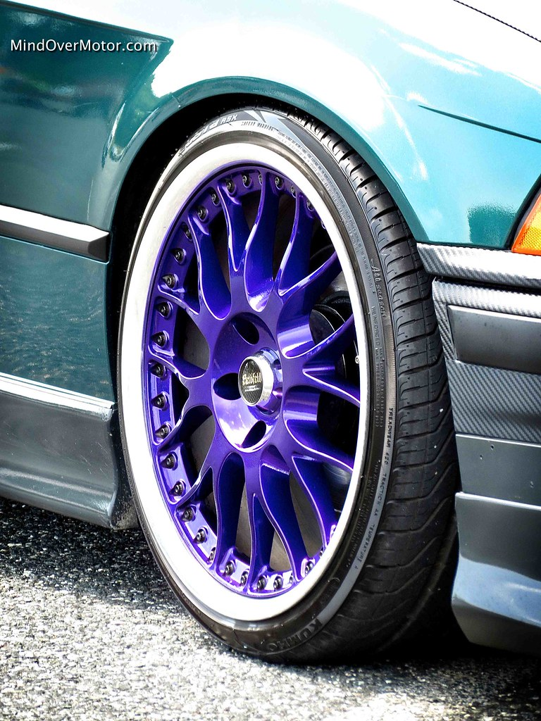 Purple Wheels