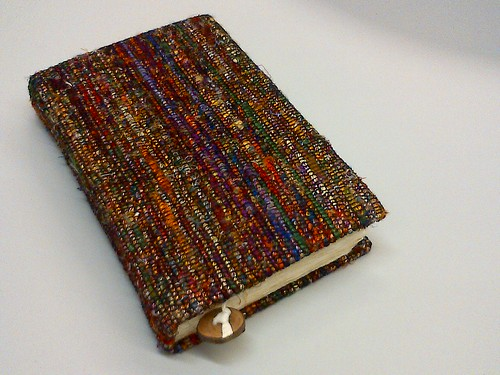 Handmade paper journal from Nepal