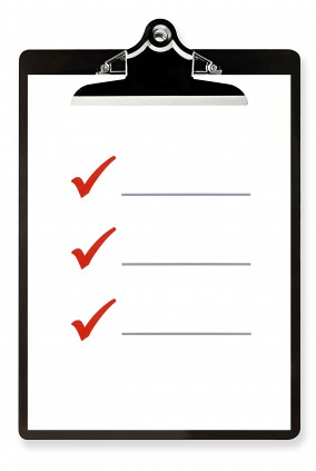 Check lists will only narrow your experience - CC Image courtesy of e3Learning