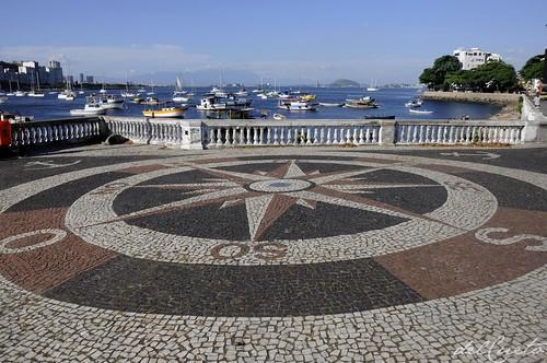 Urca 140111 086 Urca enseada de Botafogo barcos rosa dos ventos by Valéria del Cueto