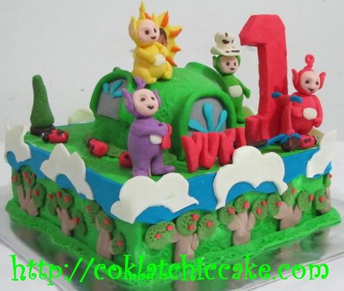 Kue ulang tahun teletubbies