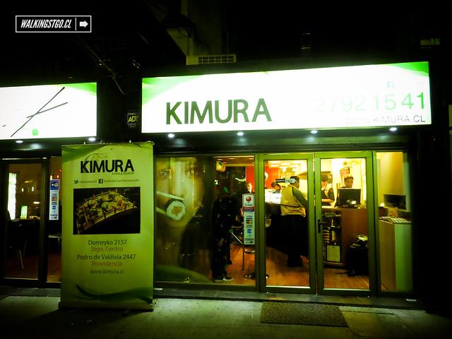 Kimura Sushi de Providencia, excelente comida japonesa en Santiago