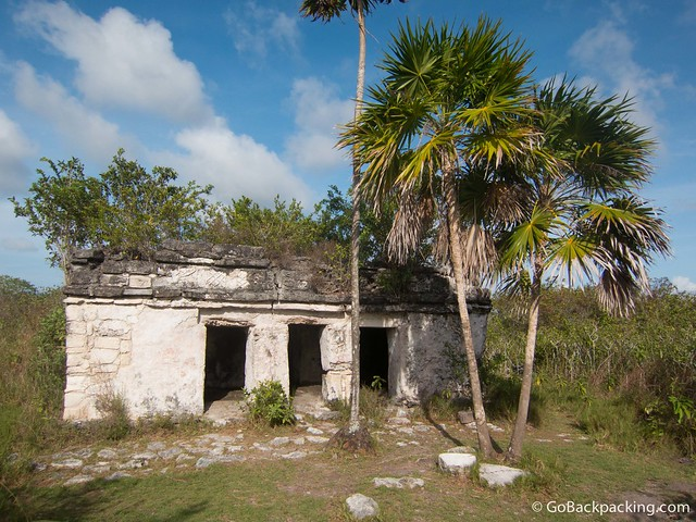 Old Mayan temple