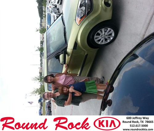 Thank you to Tracey Lamphere on your new 2013 Kia Soul from Michael Glass and everyone at Round Rock Kia! by RoundRockKia