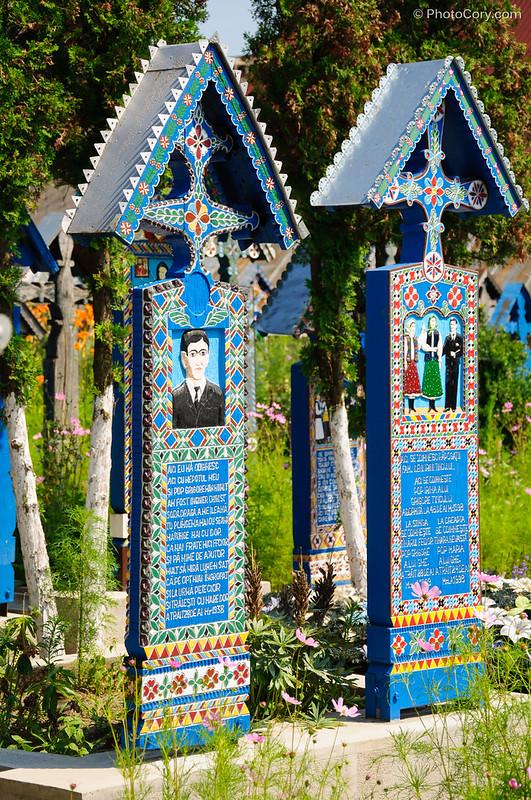 the merry cemetery, cimitirul vesel