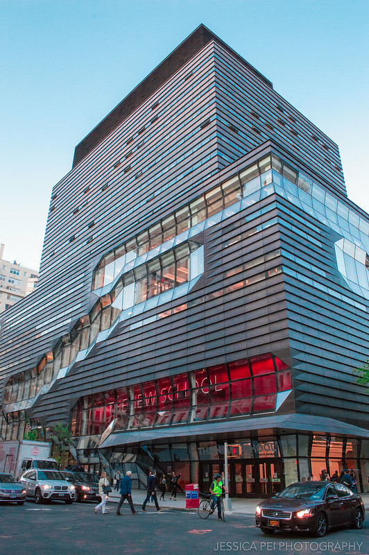 The New School Building in New York