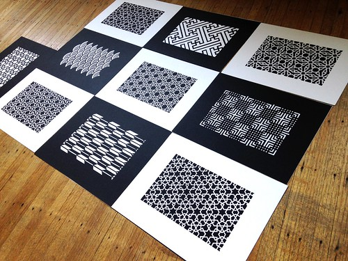 Work in progress: Paper cut patterns