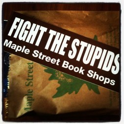 Fighting the stupid at a book store
