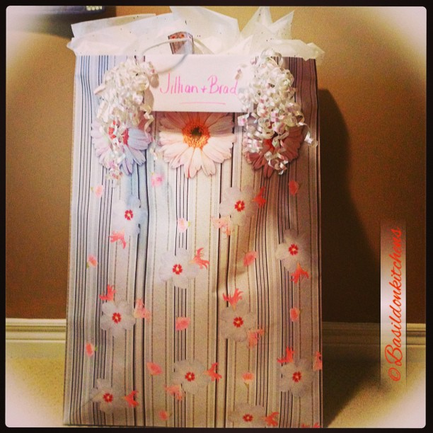 June 20 - cute {present for an upcoming wedding shower} #TitleFx #fmsphotoaday #present #gift #wedding #shower