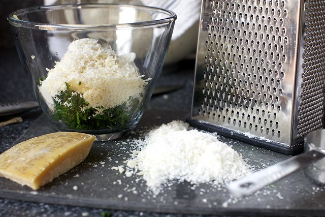 parmesan for spinach